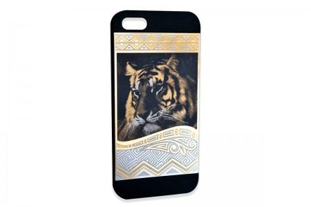 "Чехол на айфон 5 ""Тигр"""