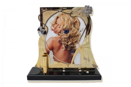 Фоторамка «Невеста» на подставке из камня.