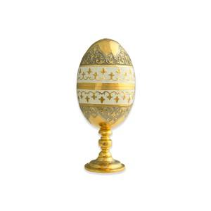 Яйцо-рюмка с белой эмалью