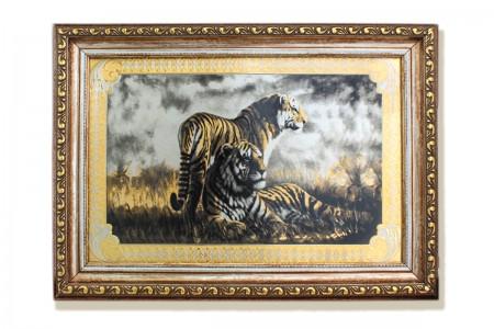 Панно «Тигры».