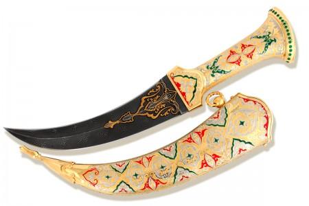 Нож-кинжал восточный «Джамбия».