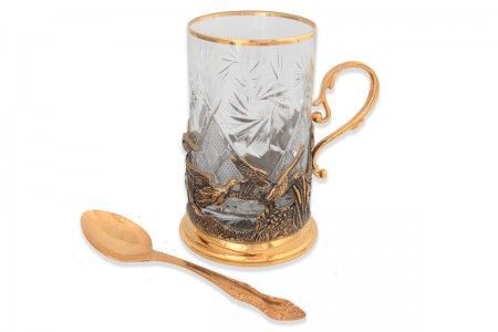 "Набор чайный на 1 персону ""Утиная охота"""