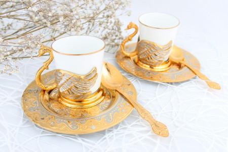 Кофейный набор «Лебеди»