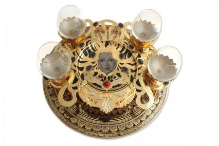 Коньячный набор «Медуза Горгона»