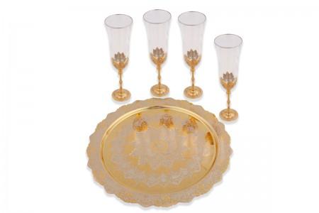 Набор для шампанского на 4 персоны