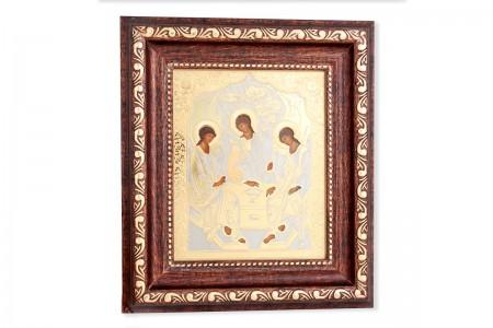 Икона Троица малая