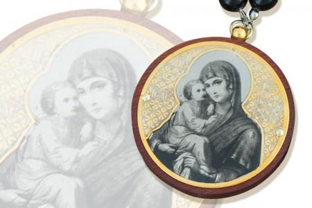 Оберег «Пресвятая Богородица» с молитвой.